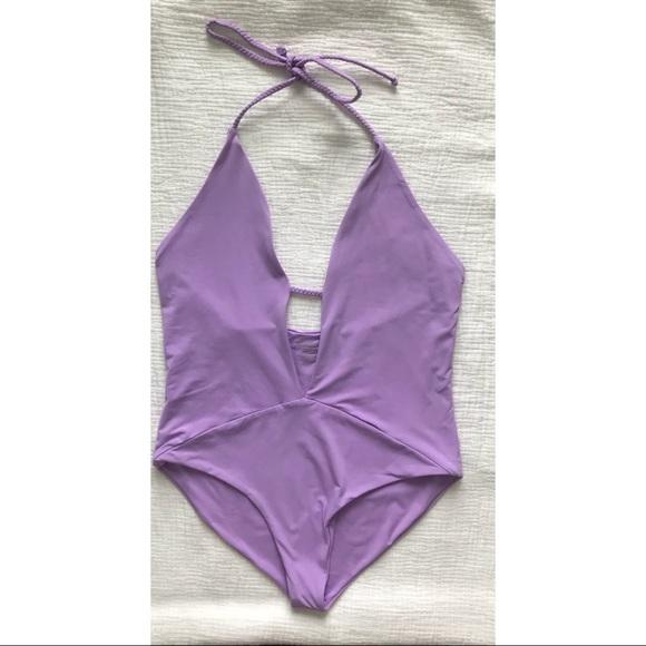 Frankie's Bikinis Other - Frankie's Bikinis Lily Plunge One Piece Swimsuit